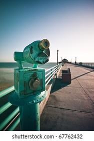 Telescope Focus Manhattan Beach Pier