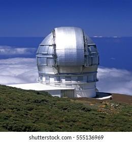 Telescope, La Palma, Spain