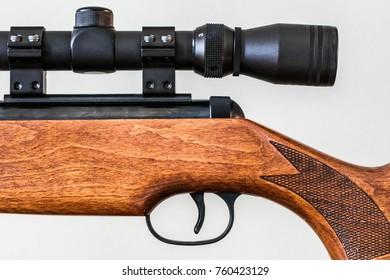 Telescopic Sight on gun