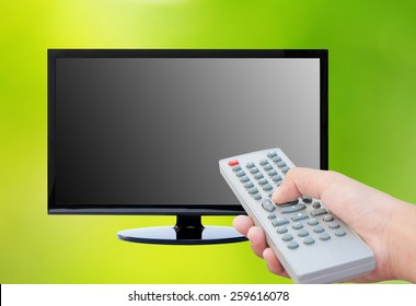 Television and remote control TV