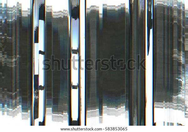 Television Screen Static Noise Disturb Glitch Stock Photo (Edit Now