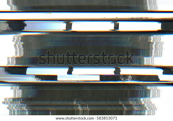 Television Screen Static Noise Disturb Glitch Stock Photo (Edit Now