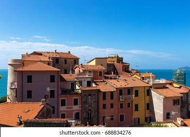 Tellaro Tuscany Italy Old Town