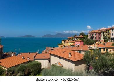 Tellaro Tuscany Old Town in Italy