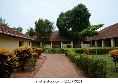 Tellicherry Fort in Thalassery a town in Kannur District of Kerala, India.