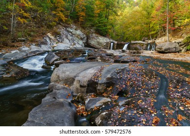 Tellico River, Tellico Plains, Cherokee National Forest. Appalachian Mountains, Tennessee