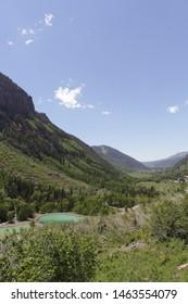 Telluride, trail to bridal veil power station