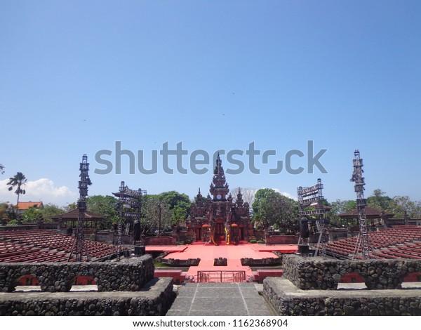 Tempat Wisata Di Art Center Bali Stock Photo Edit Now