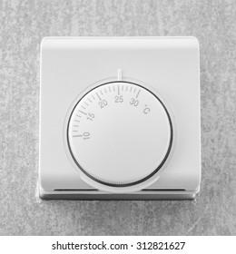 Temperature adjustment button of air conditioner