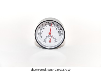 Temperature / humidity meter (white background)