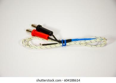 Temperature sensor for digital multimeter.
