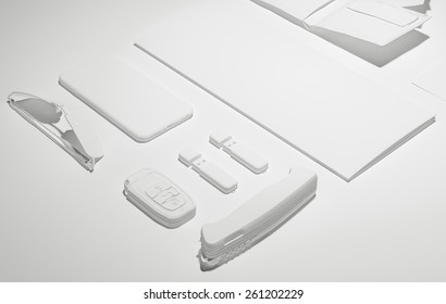 Template business for branding. High resolution