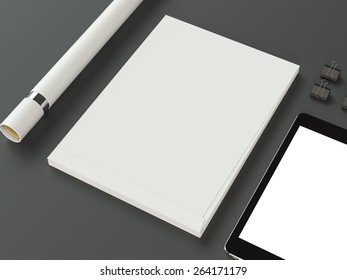 Template business for branding. High resolution.