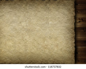 Template - canvas and planks