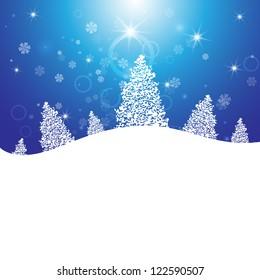 Template Christmas greetings