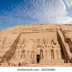 Temple in Abu Simbel