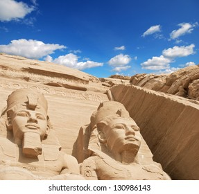 The temple of Abu Simbel in Egypt