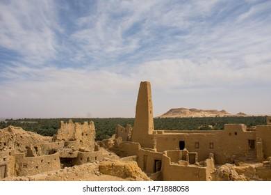 Temple of Amun Siwa Oasis