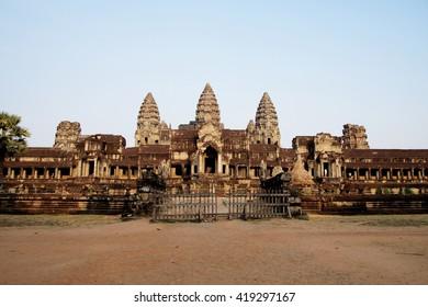 Temple at Angkor Wat, Cambodia