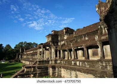 Temple in Angkor Wat, Cambodia