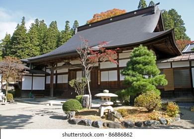 Temple annex in Takayama, Japan
