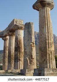 temple of apollo in corinth