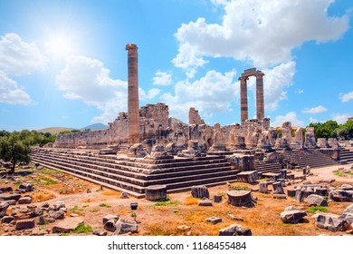Temple of Apollo in Didyma antique city