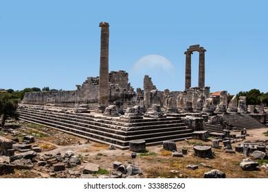 Temple of Apollo in Didyma antique city