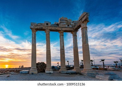 The Temple of Apollo in Side Town of Antalya Province