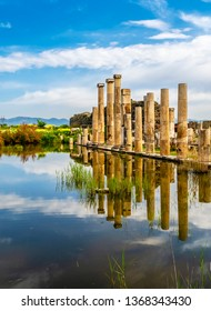 The Temple of Artemis in Magnesia on the Maeander, Turkey