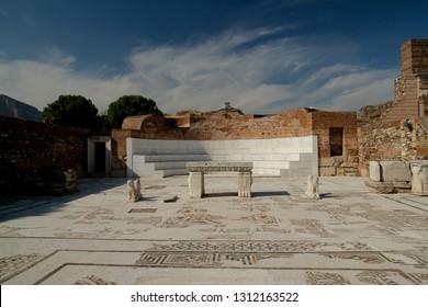 The Temple Of Artemis At Sardis. Salihli, Manisa - TURKEY