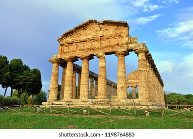 The Temple of Athena or Temple of Ceres (about 500 BC) is a Greek temple located in  Capaccio Paestum Italy
