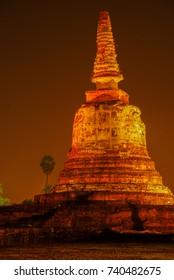 temple, Ayutthaya historical park,Ayutthaya province, thailand