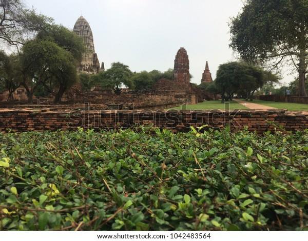 Temple at Ayutthaya,Thailand