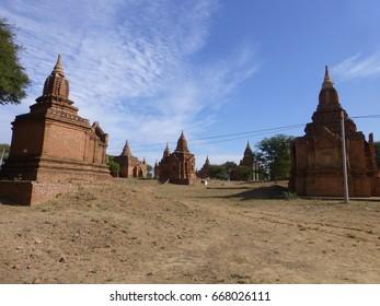 Temple of Bagan Ruins