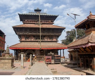 The temple of Bagh Bhairab in Kirtipur Kathmandu Nepal.