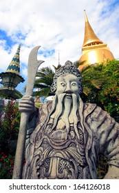 Temple in Bangkok (Thailand)