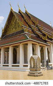 The temple in Bangkok, Thailand