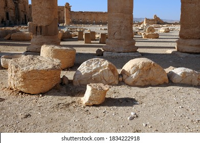 Temple of Bel Baal Palmyra Syria Arab countries ancient greek roman city