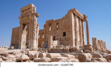 Temple of Bel in Palmyra. Syria