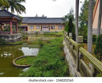 The temple of Buddhism and worship,