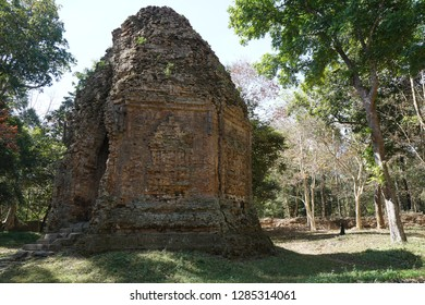 A temple called S7 at Prasat Yeah Puon in Sambor Prei Kuk in Cambodia