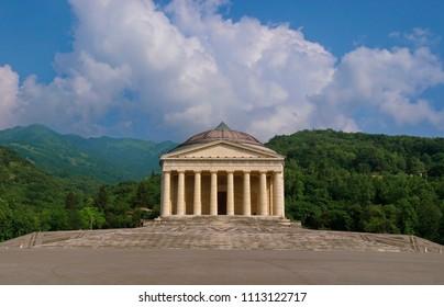 Temple of Canova (Tempio Canoviano) in Possagno / Treviso / Italy