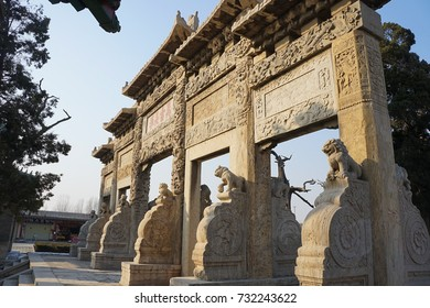 Temple and Cemetery of Confucius and the Kong Family Mansion in Qufu - Qufu, China - UNESCO Site
