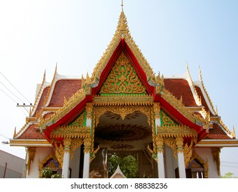 Temple in Chiang Mai, Thailand.