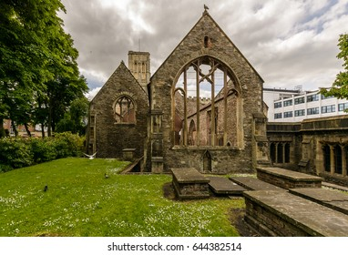 Temple Church C, also known as Holy Cross Church, Ruined church in Redcliffe Bristol England