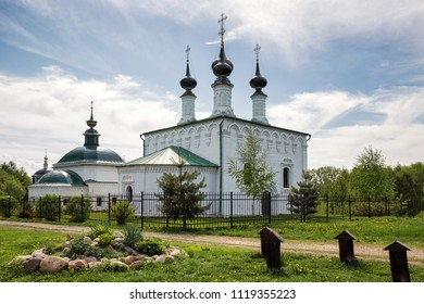Temple complex, Church of St. Paraskeva and Christ's Entry into Jerusalem. Suzdal, Russia