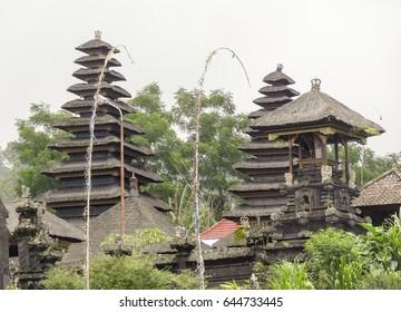temple complex named Pura Besakih in Bali, Indonesia