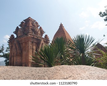 Temple complex Ponagar of the medieval Champa state in Nha Trang city Vietnam