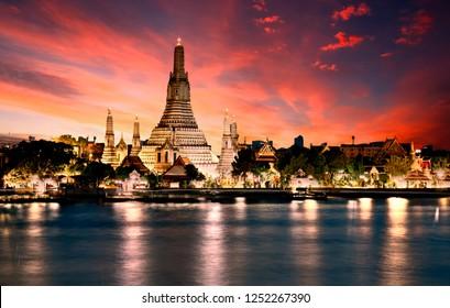 Temple of Dawn (Was Arun), Bangkok